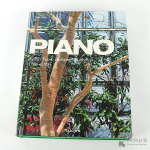 Boek Piano Renzo Piano Building Workshop