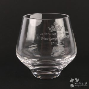 glas Engelse Prins George of Cambridge dartington crystal