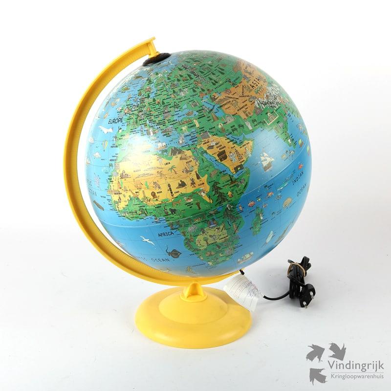 Globe met Verlichting Family Globe Atmosphere - Vindingrijk ...