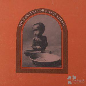 The concert for Bangla Desh box 3 LP's George Harrison Madison Square gardens in New York Ravi Shankar bestond de rest de uitgebreide band uit oa Ringo Starr, Eric Clapton, Leon Russel, Billy Preston Bob Dylan apple pop sixties