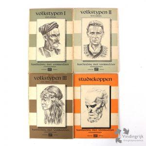 cursus zelfonderricht teekenen arti alkmaar L. de Vogel contetekeningen jaren '50