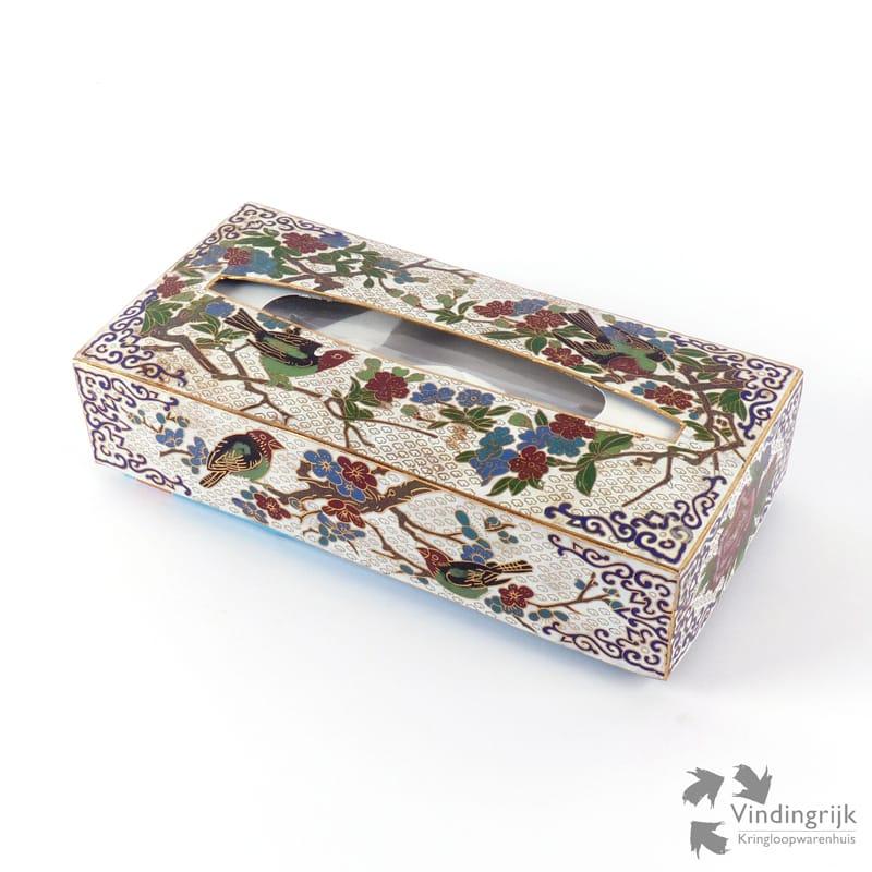 Wonderbaarlijk Tissue Box Houder Emaille - Vindingrijk Kringloopwarenhuis Breda RU-55
