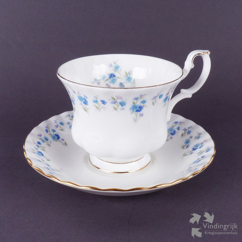 Engels Servies Merken.Kop En Schotel Royal Albert