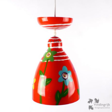 hanglamp pylones lamp lampen verlichting hanglampen kinderkamer bloem bloemen