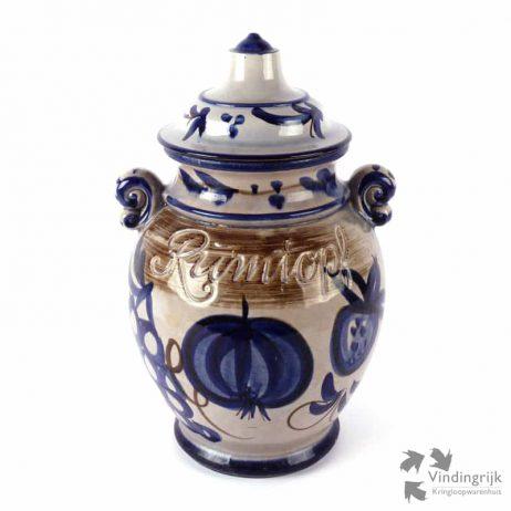 vintage rumtopf Scheurich keramiek West Germany Duitsland 826-36
