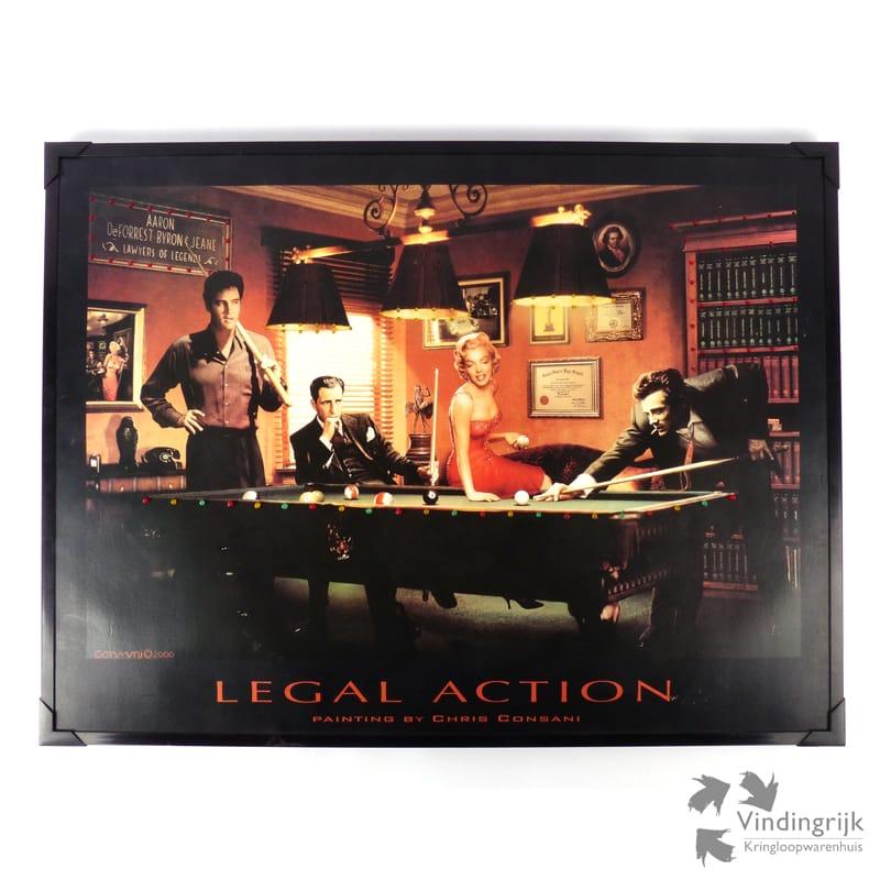 Legal Action Door Chris Consani Met Ledverlichting Vindingrijk