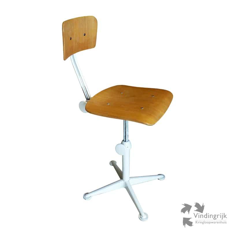 Friso Kramer Bureaustoel.Vintage Bureaustoel Friso Kramer Vindingrijk Kringloopwarenhuis