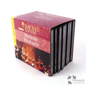 cd box 9 klassiek Johann Sebastian Bach