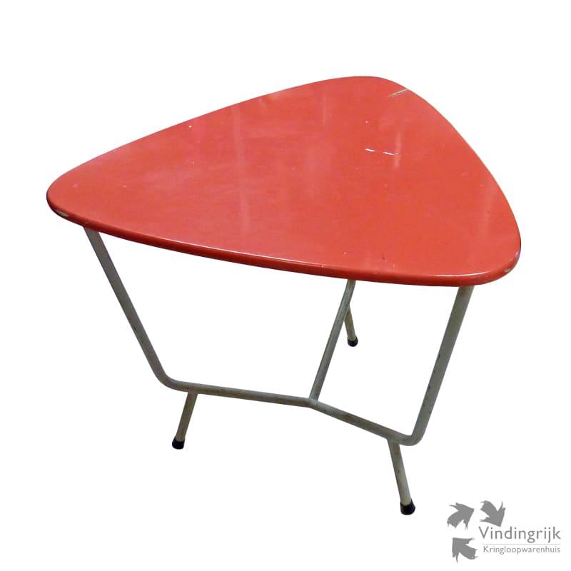 Vintage tafel vindingrijk kringloopwarenhuis breda for Retro tafel