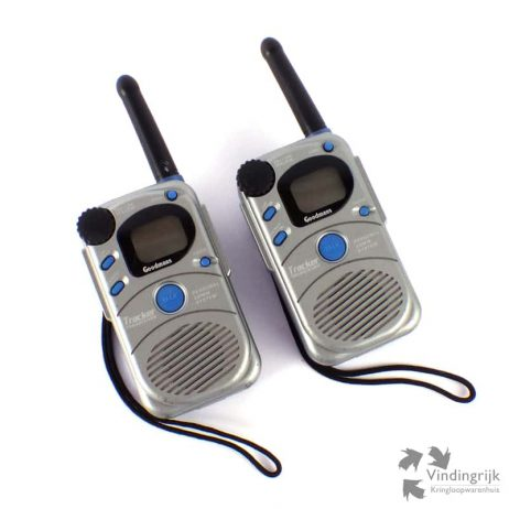 set walkie talkie Goodmans Tracker walky talky