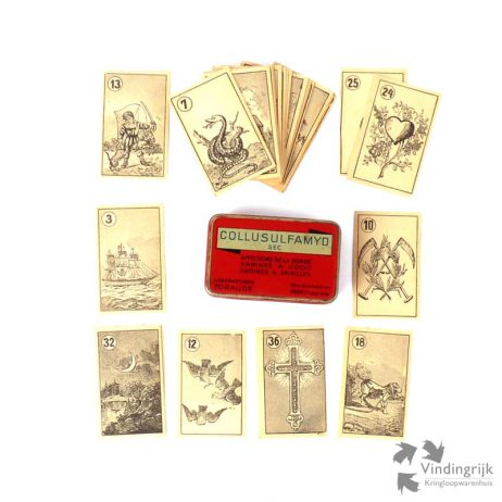 Antieke waarzegkaarten madame lenormand 1868 vindingrijk for Tuin lenormand