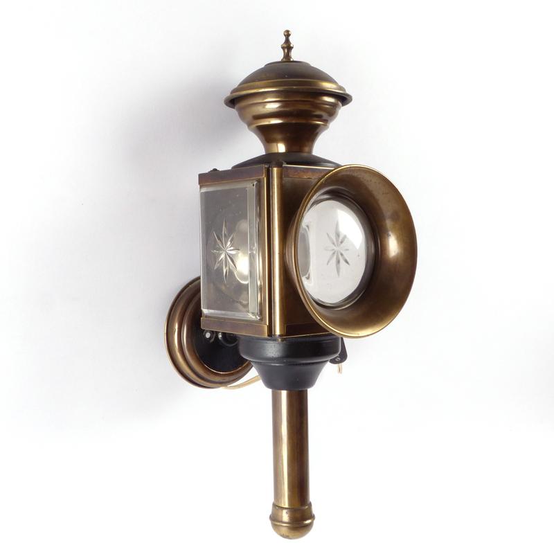 Fabulous Vintage Wandlamp Lantaarn Koper - Vindingrijk Kringloopwarenhuis Breda YD52