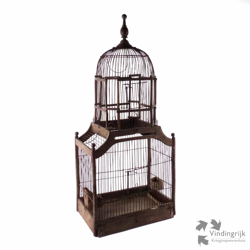 Decoratieve vogelkooi vindingrijk kringloopwarenhuis breda for Vogelkooi decoratie