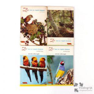 Zo leer je vogels kennen was een plaatjesalbum van Rizla, het merk vloeitjes. In deel 1 en 2 worden steeds 50 vogels besproken die voorkomen in Nederland. Deel 3 en 4 behandelen exotische volièrevogels. De 4 delen zijn compleet met alle plaatjes.