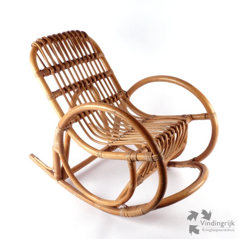 Retro Rotan Kinderstoeltje.Vintage Rotan Kinderstoeltje Vindingrijk Kringloopwarenhuis Breda