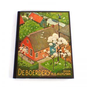 verkade album plaatjes 1936 boerderij boerdery