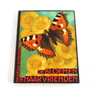 verkade album 1934 bloemen vrienden vlinder plaatjes verzamelen boek druk