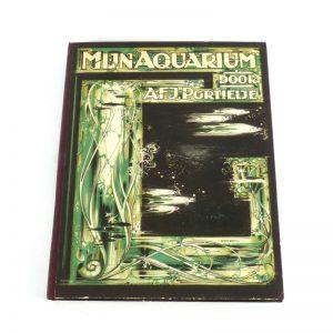 Verkade album plaatjes verzamelen aquarium druk 1925
