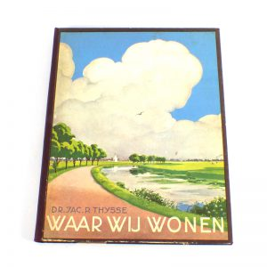 Verkade album plaatjes Waar wij wonen verzamelen druk 1937