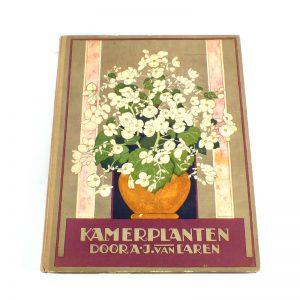 Verkade album kamerplanten plaatjes boek 1928