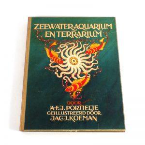 verkade plaatjes album zeewater aquarium en terrarium boek