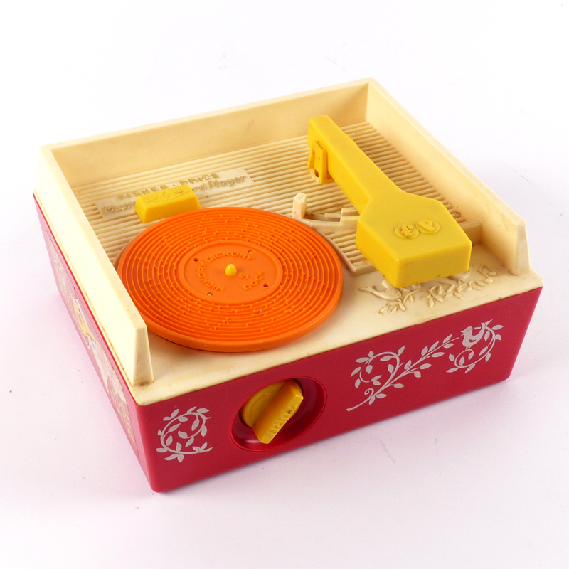 vintage fisher price music box record player 1971. Black Bedroom Furniture Sets. Home Design Ideas
