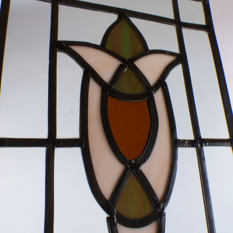 raamdecoratie glasinlood vindingrijk