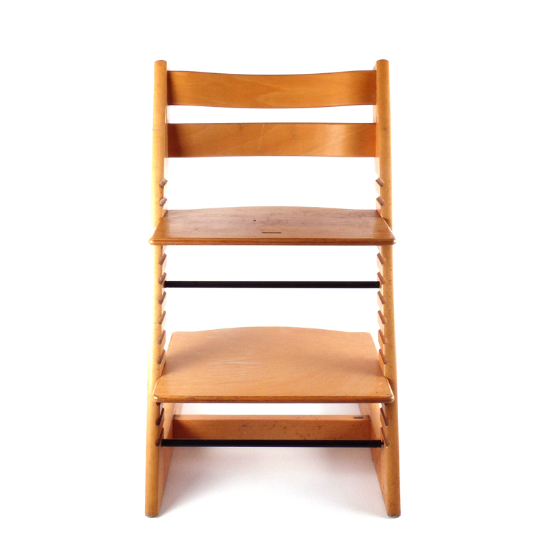Houten Triptrap Stoel.Kinderstoel Tripp Trapp Van Stokke Vindingrijk