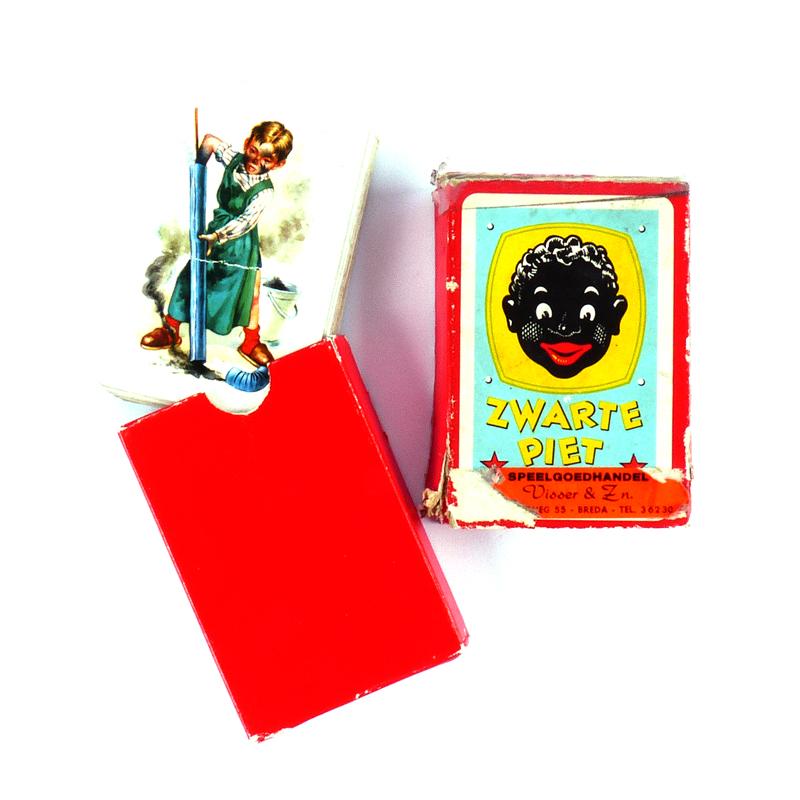 Ongekend Vintage Kaartspel Zwarte Piet Jumbo - Vindingrijk ZM-58