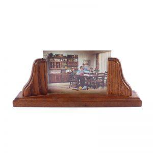 vintage houten fotolijst klassiek hout meubelfabriek Oisterwijk foto