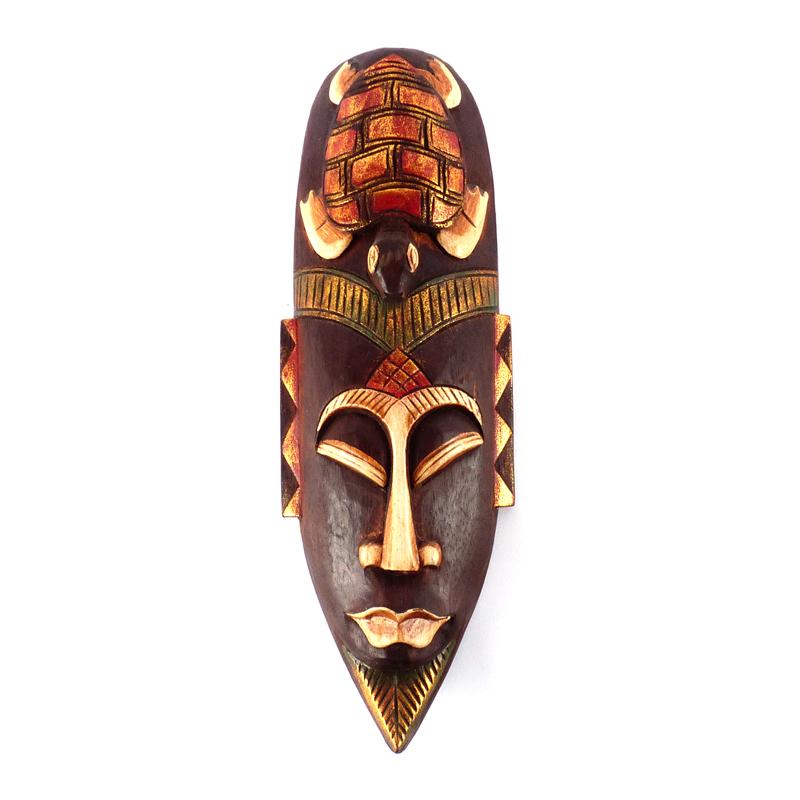 houten wanddecoratie afrika vindingrijk