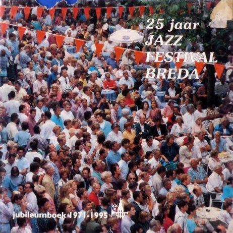 25 Jaar Jazz Festival Breda 1971-1995 fotoboek