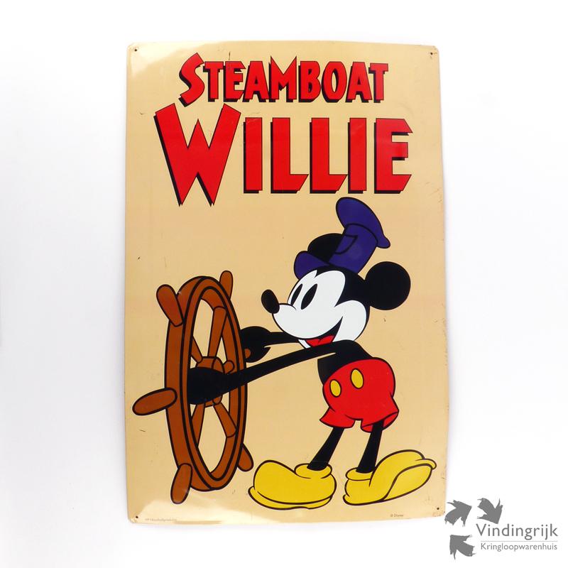 blikken wanddecoratie mickey mouse vindingrijk