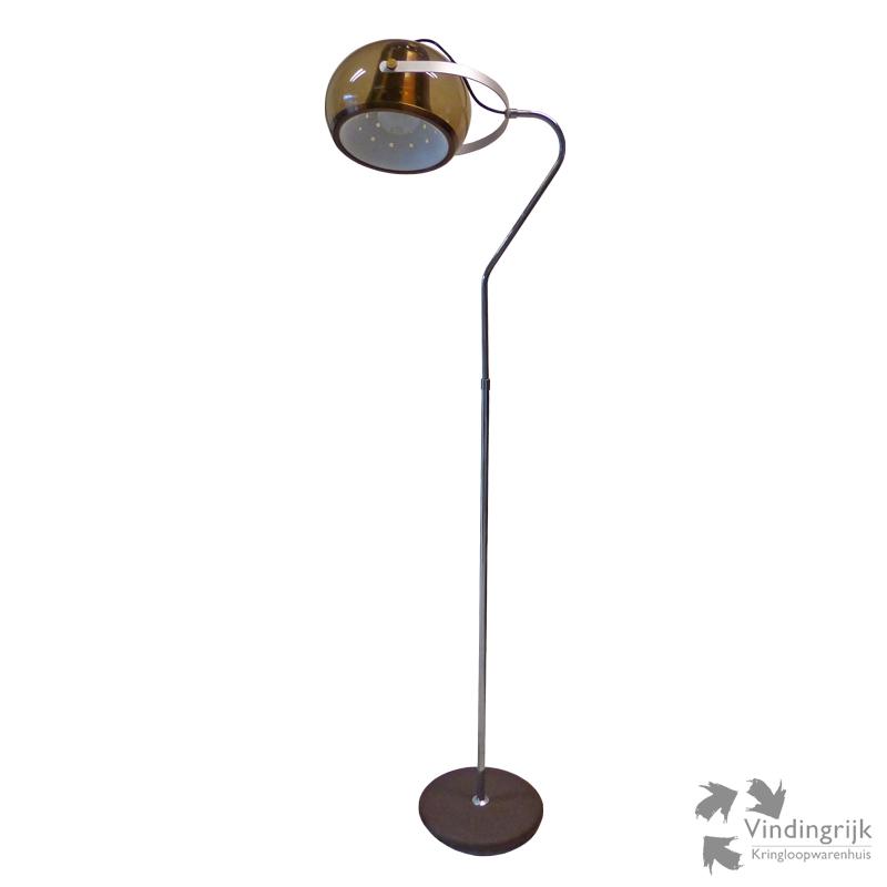 Ongekend Vintage Staande Lamp - Vindingrijk Kringloopwarenhuis Breda IX-11