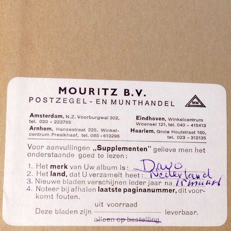 Wonderbaar DAVO Nederland 1 - 2 Postzegelalbums 1853 - 1982 - Vindingrijk FR-89