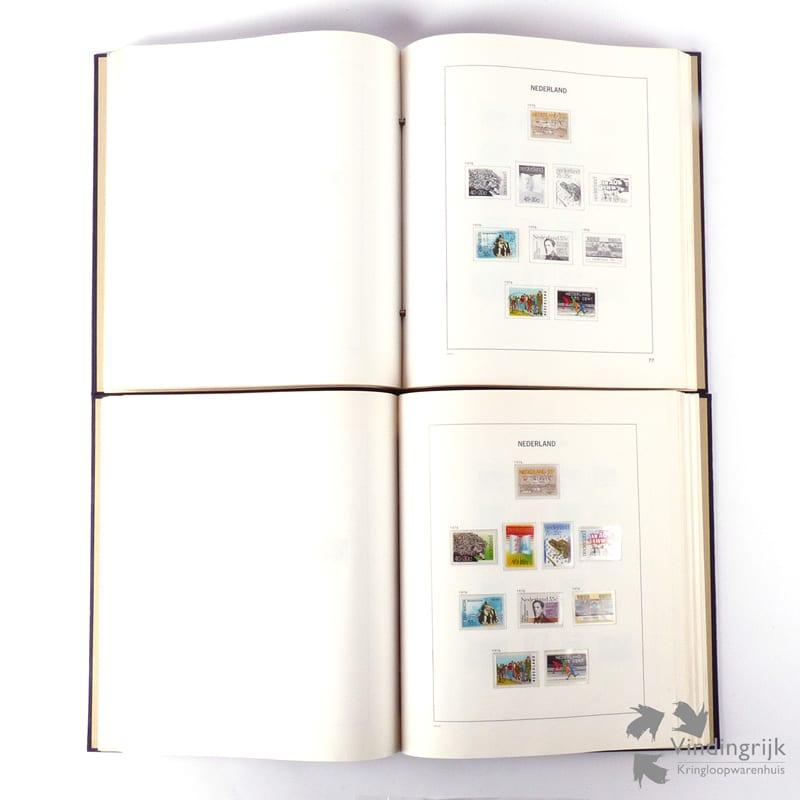 Wonderbaarlijk DAVO Nederland 1 - 2 Postzegelalbums 1853 - 1982 - Vindingrijk QC-82