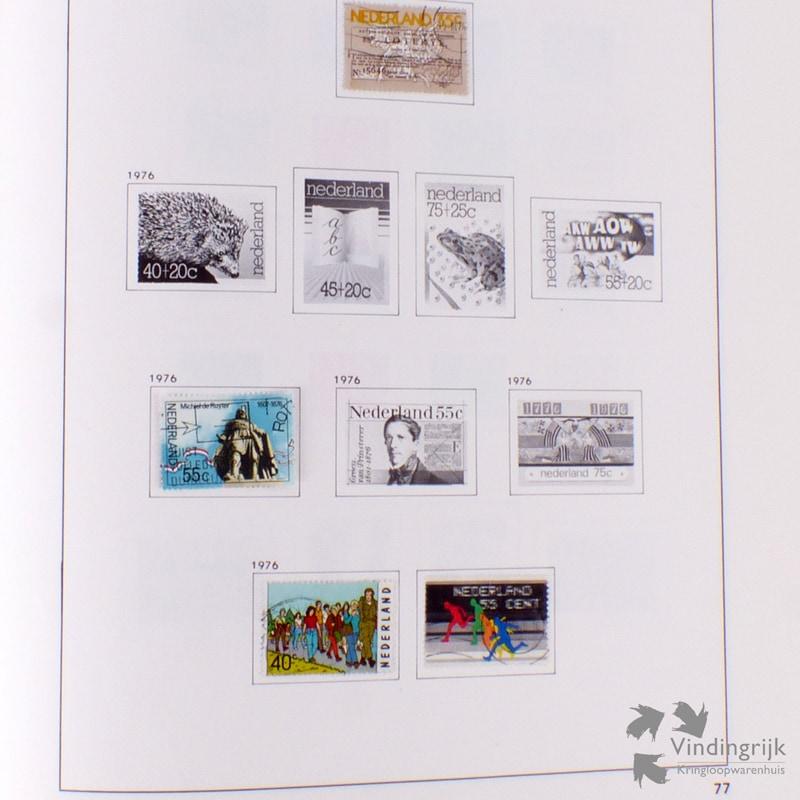 Welp DAVO Nederland 1 - 2 Postzegelalbums 1853 - 1982 - Vindingrijk MC-96