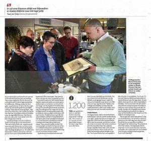 artikel Volkskrant Vindingrijk webshop cursus warenherkenning Marcel Brouwer kringloop