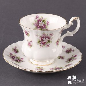 Kop en Schotel Royal Albert Sweet Violets