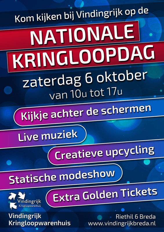 Nationale Kringloopdag 6 oktober