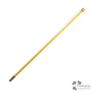lange TL lamp buis geel kleur lang sfeerlicht T8