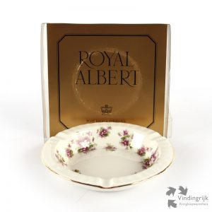 asbak Royal Albert Engeland servies Sweet Violets