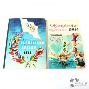 Twee Plaatjesalbums - Olympische Spelen 1952 en 1964