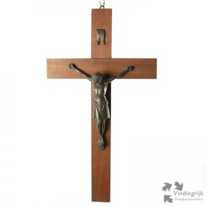 Vintage Crucifix Art-Deco