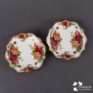Set Bonbonschaaltjes Royal Albert Old Country Roses