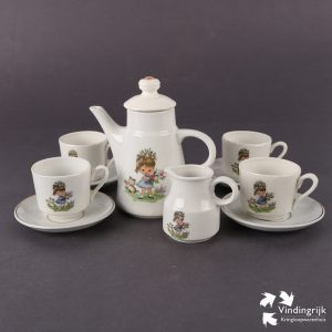 Vintage Kinderservies Porselein DDR