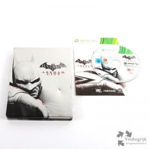 Batman Arkham City - Xbox 360 Steelbook joker catwoman