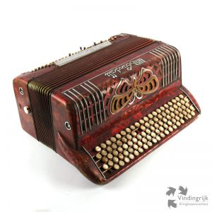 vintage accordeon trekzak Super Scandalli instrument