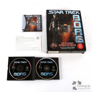 Star Trek Borg - The Interactive Movie 3 Disc PC