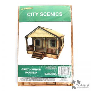 modelbouw Bouwpakket Grey Harbor House City Scenics TT Combat